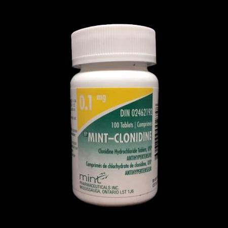 canada clonidine
